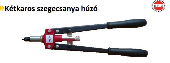 Kétkaros szegecsanyahúzó M4-M8 H2033