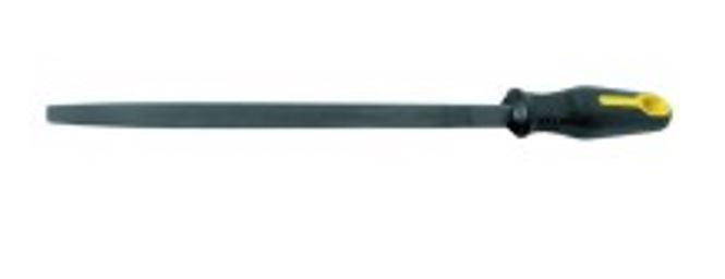N66145 Háromszög vasreszelő műanyag nyéllel 250mm