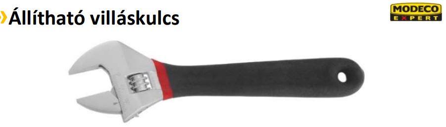 Állítható villáskulcs 150 (15mm-ig) N53056