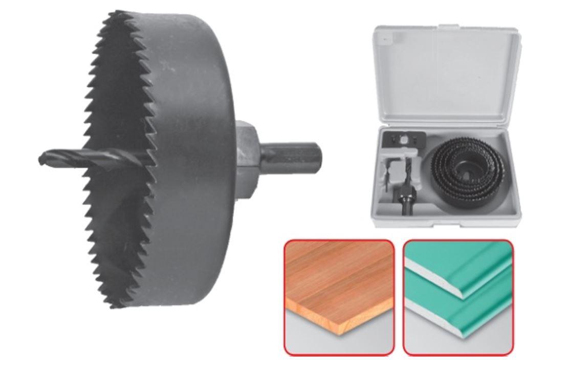 Körkivágó készlet 8 részes (51-102) 25mm